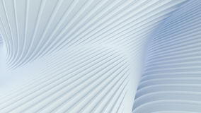 Wave band abstract background surface. Digital 3d illustration Stock Photography
