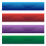 Wave Banner Set Stock Image