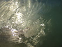 Wave Barrel Stock Photo