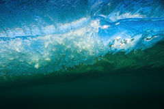 Wave Barrel Underwater Royalty Free Stock Images
