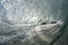 Wave barreling Royalty Free Stock Images