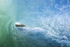 Wave Barreling New Zealand Royalty Free Stock Photos