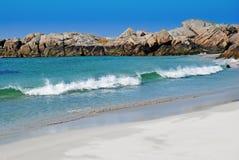 Wave on beach Stock Photo