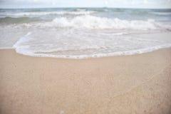 Wave on beach Stock Photography