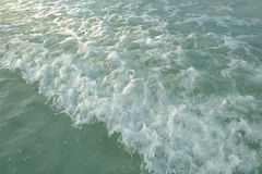 Wave and beach Royalty Free Stock Images