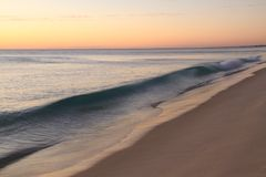 Wave Beach Sand Royalty Free Stock Photos
