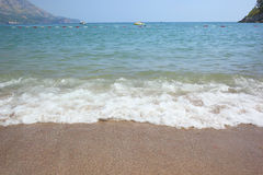 Wave beach Royalty Free Stock Photos