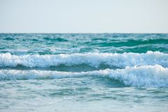 Wave on the beach royalty free stock photo