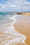 Wave on Beautiful Beach Stock Photography