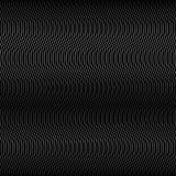 Wave Black Line Background Stock Images