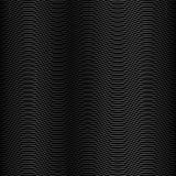 Wave Black Stripe Background Royalty Free Stock Image