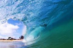 Wave blu Immagine Stock Libera da Diritti