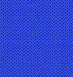 Wave blue color pattern wallpaper Stock Photography