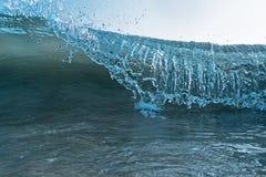 Wave Blue Crashing Detail Ocean wave cresting crashing rolling stock photo
