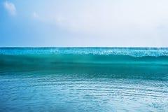 Wave Blue Crashing Detail Ocean wave stock photo
