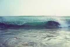 Wave Blue Crashing Detail Ocean wave royalty free stock photography