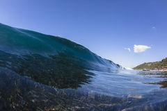 Wave Blue Reef Royalty Free Stock Photography