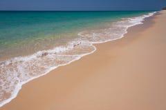 Wave and blue sky at Andaman sea,thailand Stock Photos