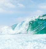 Wave and Bokah Foam Stock Photography