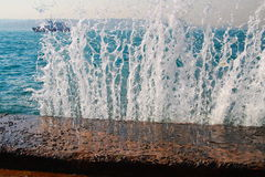 Wave break Royalty Free Stock Photo