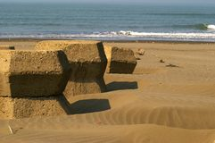 Wave Breakers Royalty Free Stock Image