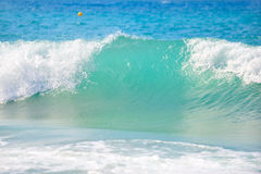 Wave breaking Royalty Free Stock Photos