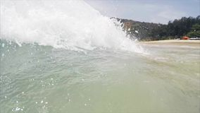 Wave stock video