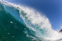 Wave Breaking Crashing Water Stock Photography