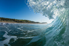 Wave breaking Stock Photography