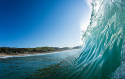 Wave breaking Stock Images