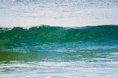 Wave Breaks. Atlantic Wave Breaks at the Herring Pond Portstewart Northern Ireland royalty free stock image