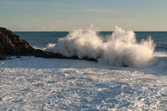 Rough seas Stock Images