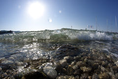 A wave Stock Image