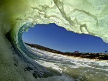Wave. Captured in San Clemente, California Royalty Free Stock Images