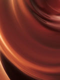 Wave of chocolate. Tasty wave of shiny chocolate Stock Images