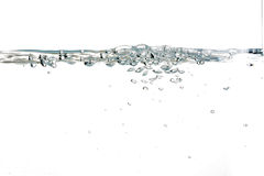 Wave Of Clear Water stock images