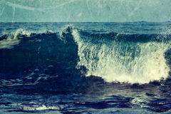 Wave close up Royalty Free Stock Photos