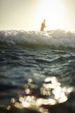 The Wave. A closeup of a wave on the beach in India Stock Photography