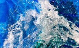 Wave closeup Royalty Free Stock Images