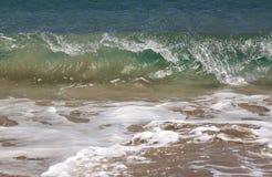 Wave. Closeup of turquoise wave splashing Stock Photos