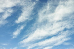 Wave of clouds in the sky Royalty Free Stock Images