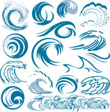 Wave Collection stock illustration