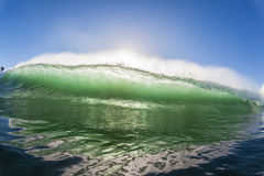 Wave Color Crashing Water Power Stock Photography