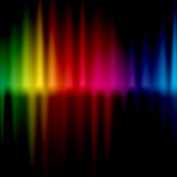 Wave colorful background Stock Images