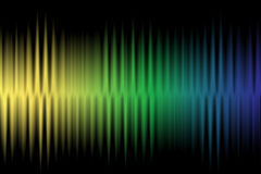 Wave colorful background Royalty Free Stock Images