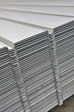 Wave corrugated steel sheet Stock Images