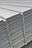 Wave corrugated steel sheet Stock Images