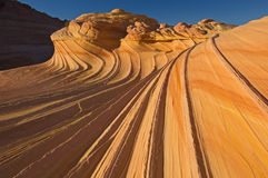 The Wave Coyote Buttes Royalty Free Stock Images
