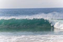 Wave Crashing Beach Stock Image