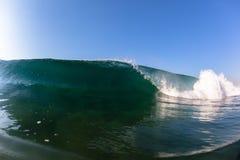 Wave Crashing Blue Sea Water Royalty Free Stock Photography
